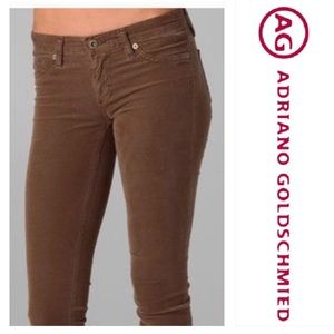 ADRIANO GOLDSCHMIED Brown Jegging Super Skinny